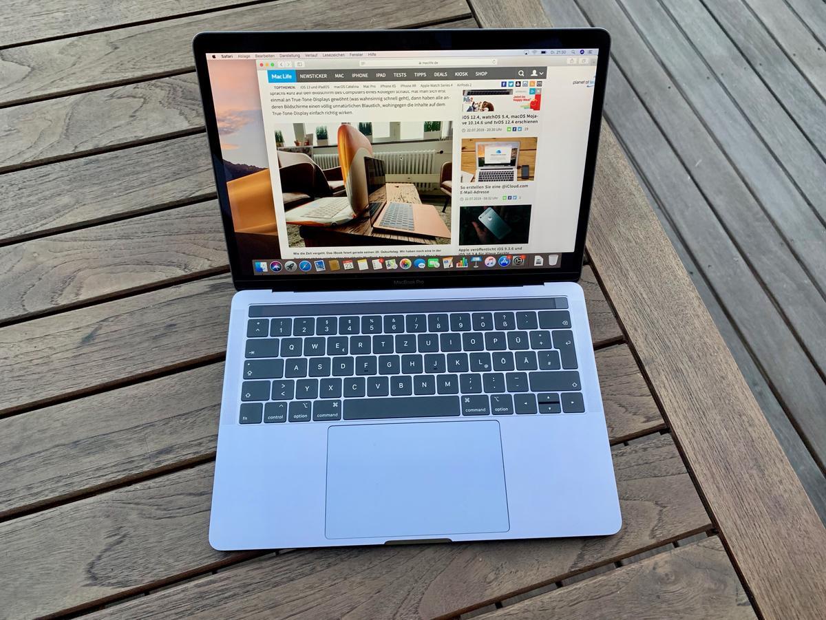 Im Test Macbook Pro 13 Zoll Der Beste Mac Fur Die Meisten Menschen Mac Life