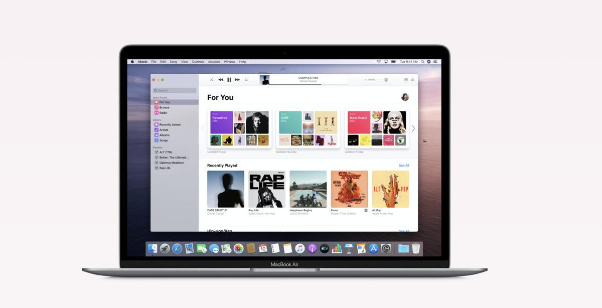 So funktioniert macOS Catalina ohne iTunes - Backups und mehr