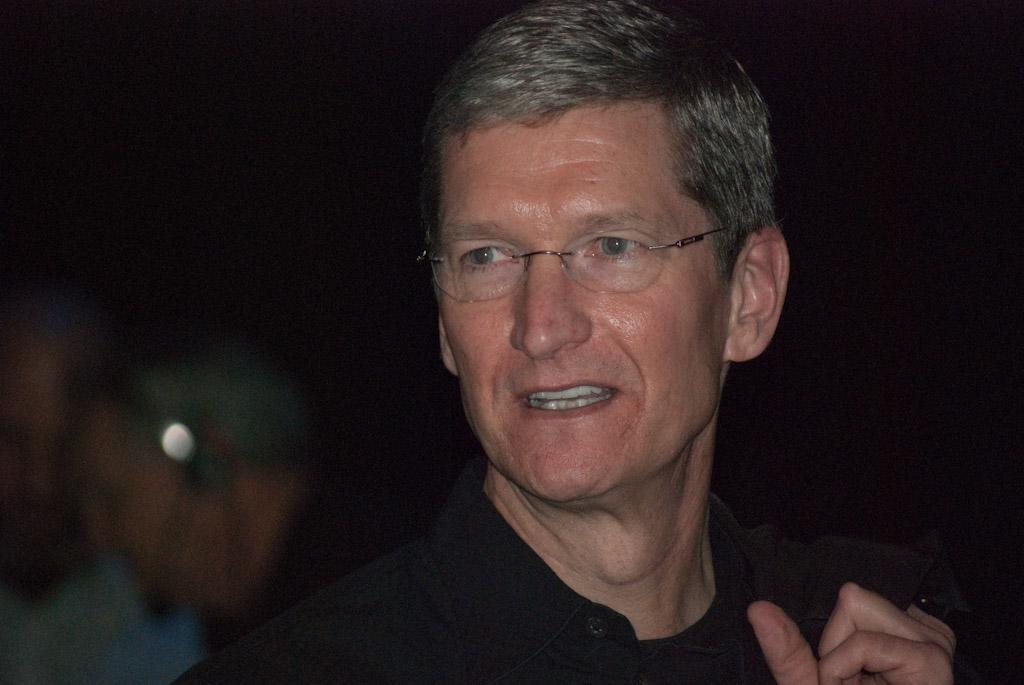 "Tim Cook erinnert an ""Think different"" und Steve Jobs"
