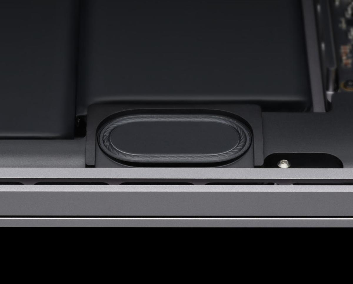 """16"""" MacBook Pro: Ungewöhnliches Knacken im Lautsprecher"""