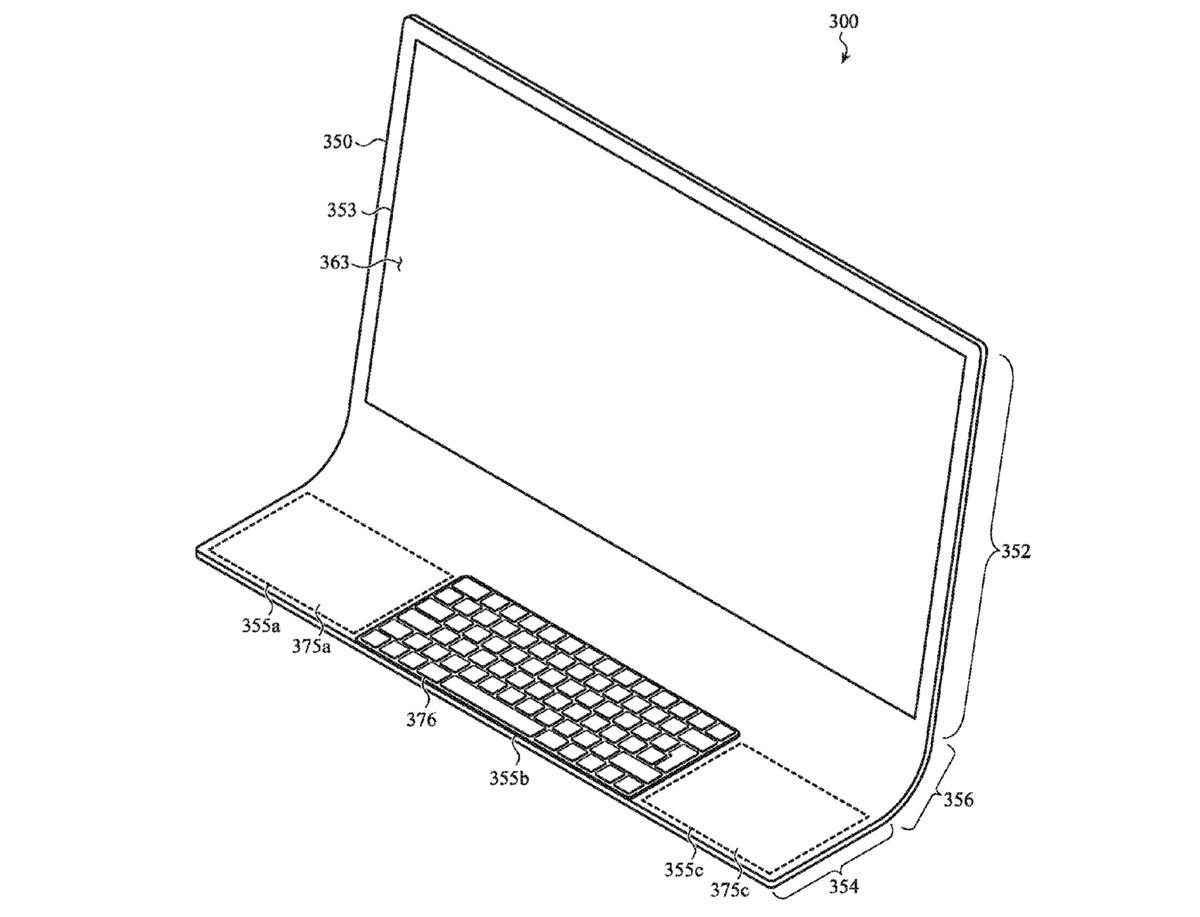 Apple will iMac zu einer gewölbten Glasscheibe machen