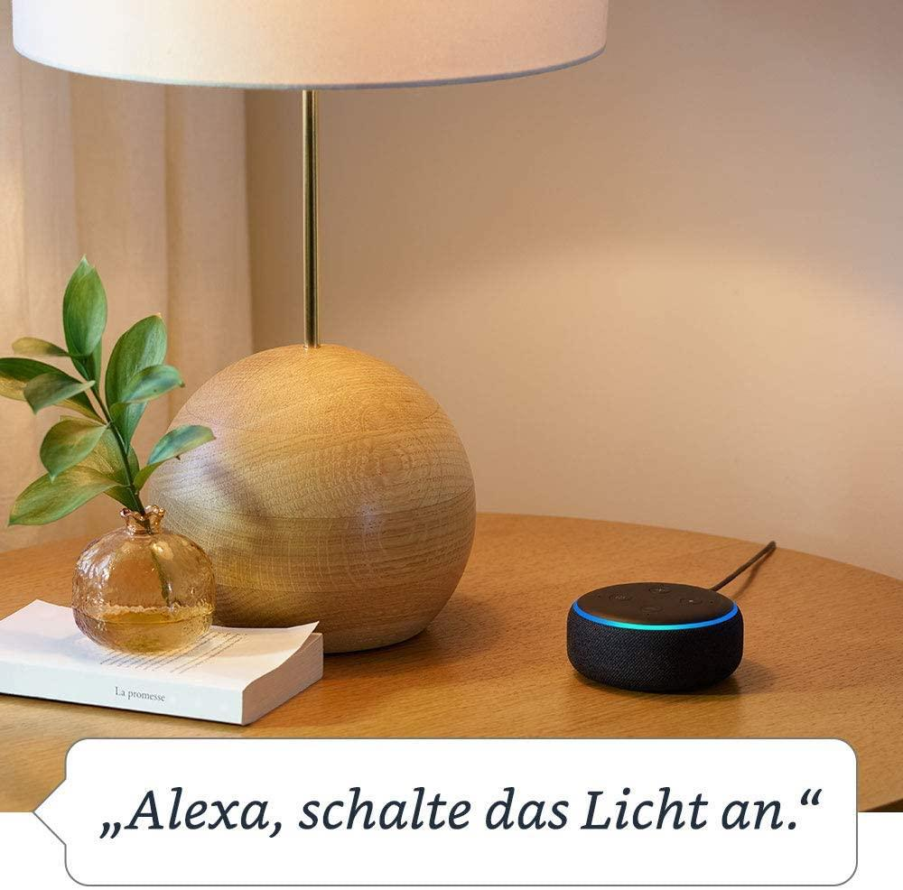 Amazon Echo Dot + 1 Monat Amazon Music Unlimited für 18 Euro