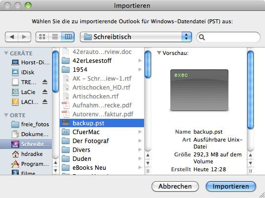 Microsoft Office: Outlook 2011 von Windows auf den Mac migrieren