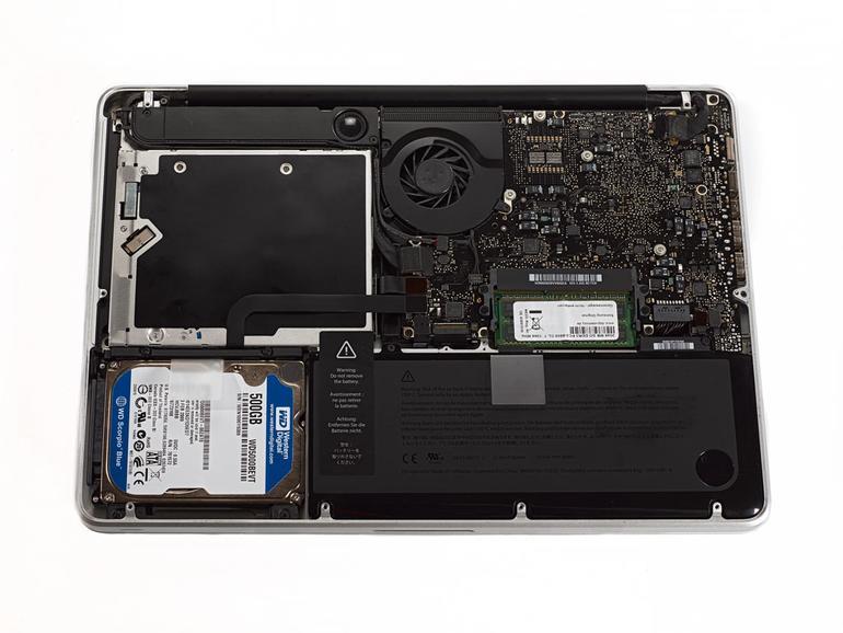 MacBook Pro: Festplatte gegen SSD austauschen