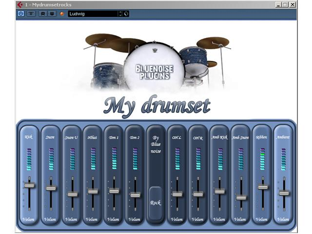 Test: Blue Noise My Drumset