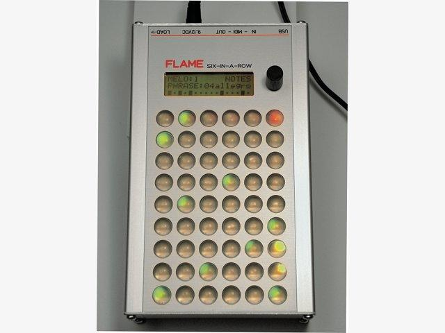 Test: Flame Six-in-a-Row