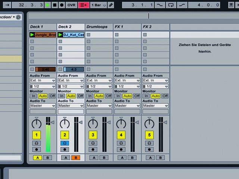 Auflegen und Performen mit Ableton Live