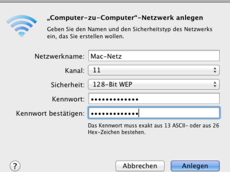 Internet-Sharing: So wird der Mac zum WLAN-Router