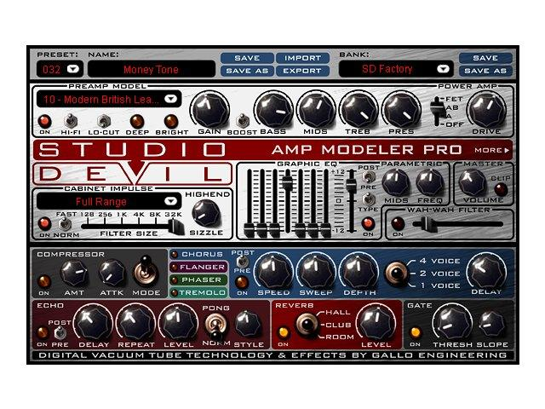 Test: Studio Devil Amp Modeler Pro