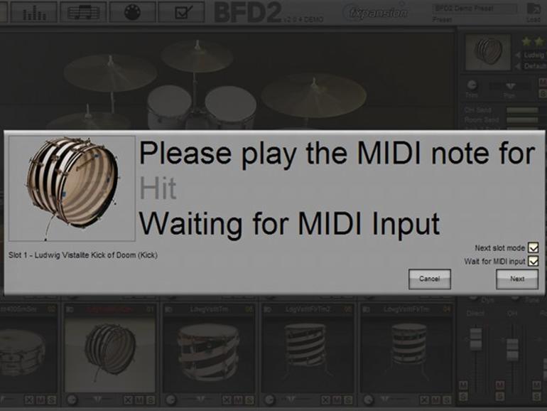 So gelingen authentische MIDI-Drums mit FXPansion BFD2