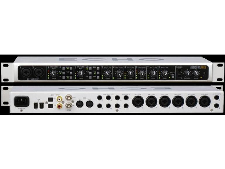 Test: Echo Audiofire Pre8
