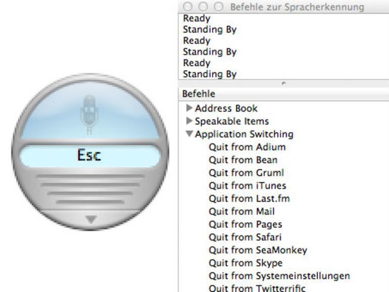 Mac OS X: Sprachsteuerung einrichten und aktivieren
