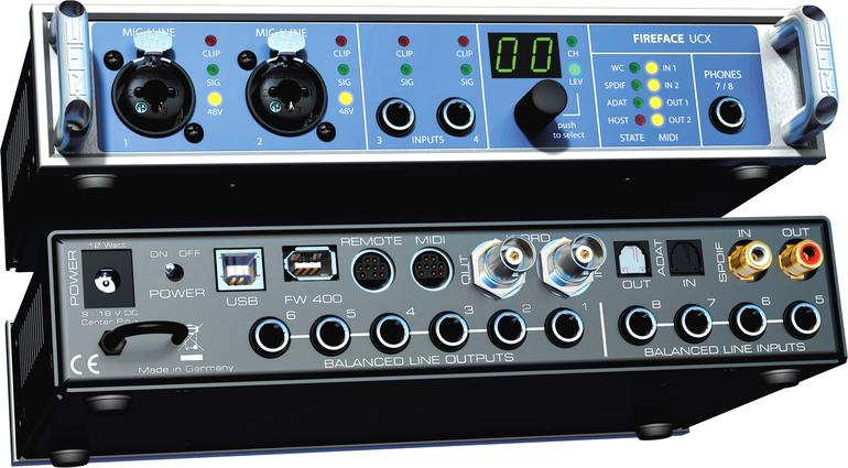 Test: RME Fireface UCX
