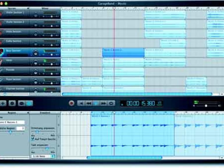 how to make music on garageband on mac