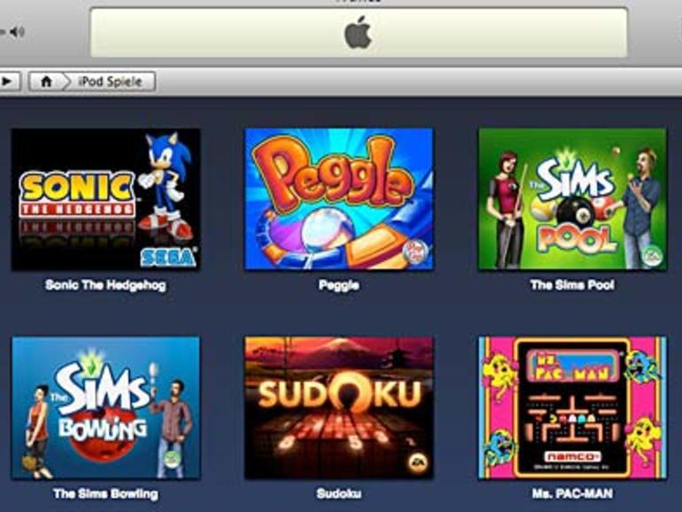 Neue iPod-Spiele im iTunes Store erhätlich