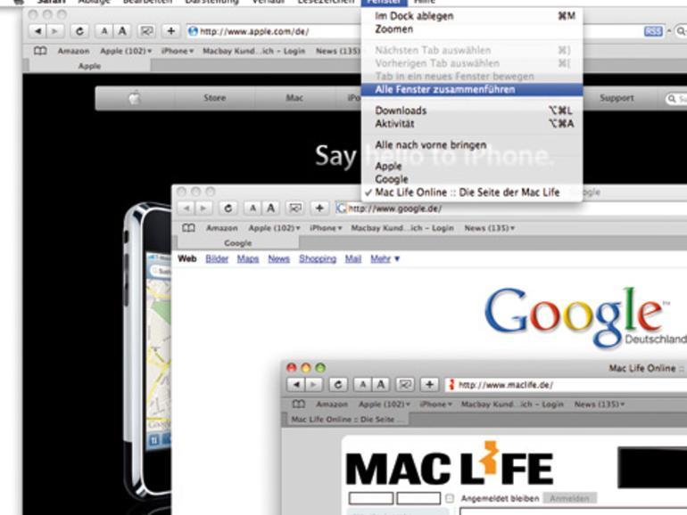 Safari 3 Bitte Sammeln Mac Life