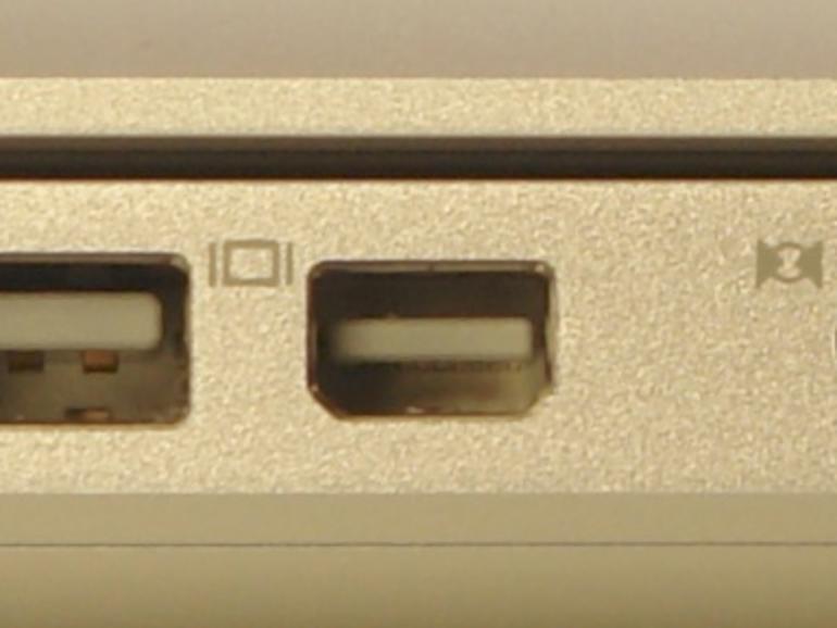 Apples Mini DisplayPort: Mit oder ohne Audio?