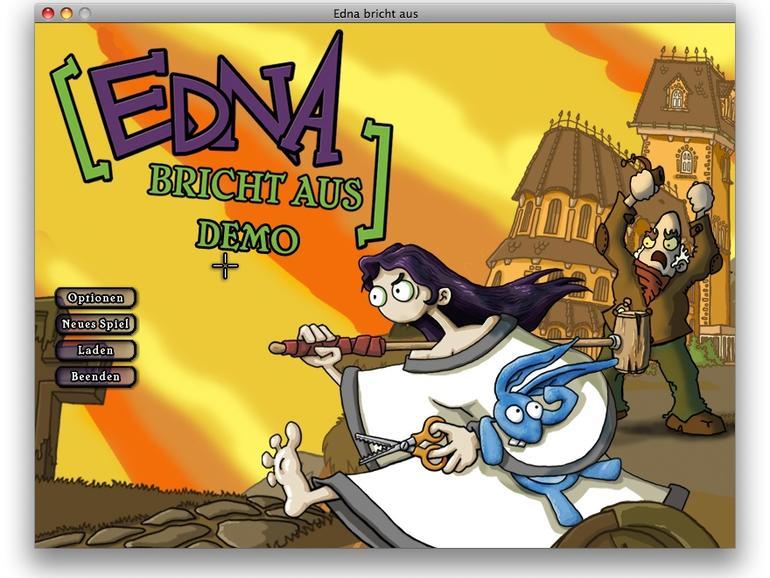 Edna bricht aus: Neues Point&Click-Adventure