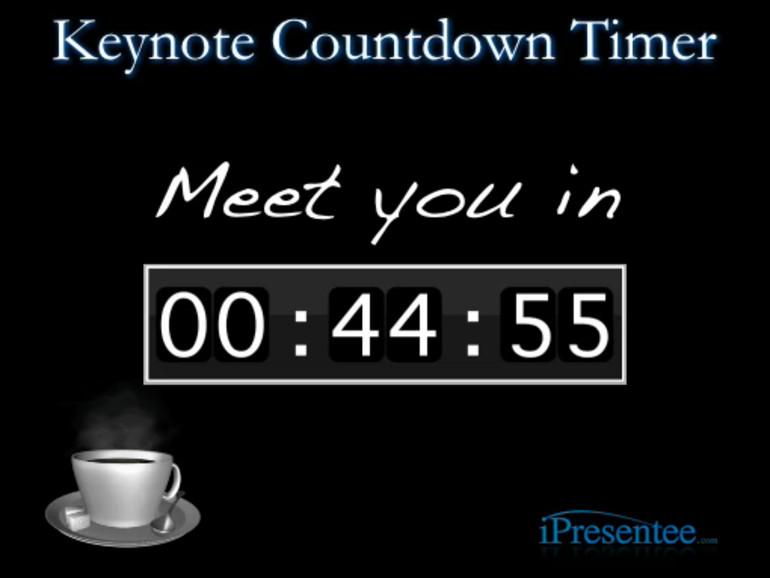 gratis countdown für keynote präsentationen mac life