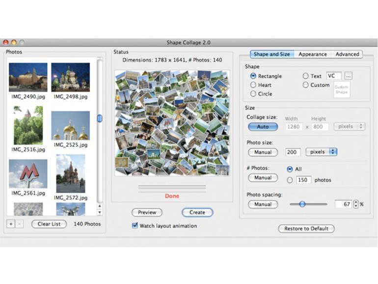 fotocollagen auf dem mac erstellen
