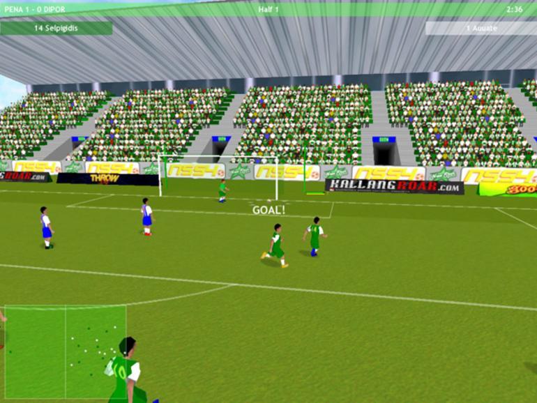 Fußballsimulation