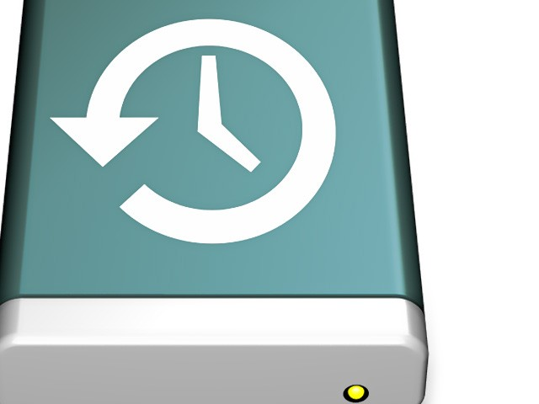 Über Time Machine lassen sich USB-Festplatten formatieren
