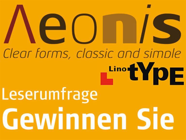 Gewinner Mac Life 09.2009: Aeonis Schriftenpaket