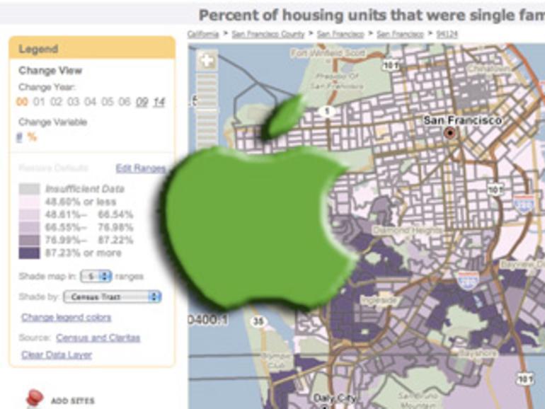 Apple hat Kartendienst Placebase übernommen