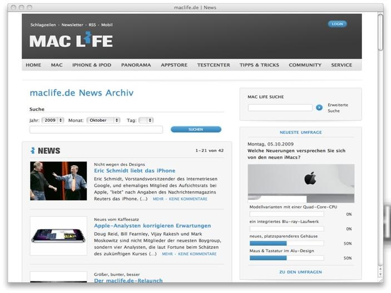 Der maclife.de-Relaunch