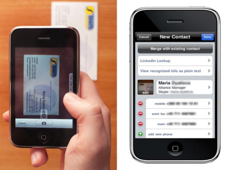Visitenkarten Scannersoftware Für Das Iphone Mac Life