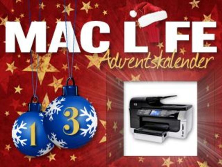 Adventskalender, Tag 13: HP OfficeJet Pro zu gewinnen
