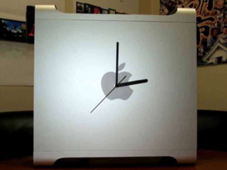 Power Mac G5 als Uhr