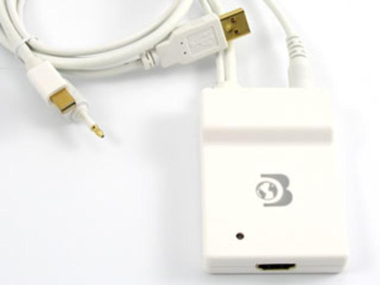 Mini-DisplayPort-Adapter mit Audiounterstützung
