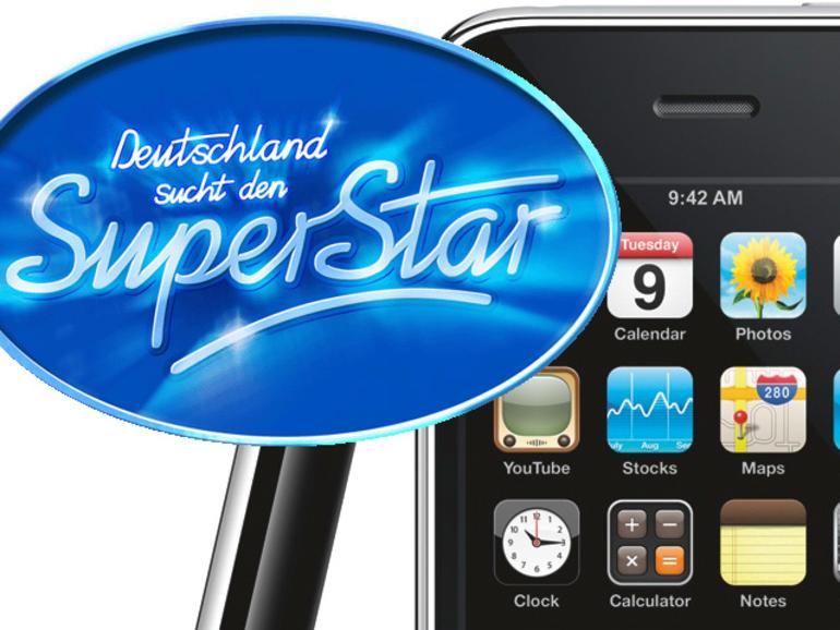 DSDS fürs iPhone