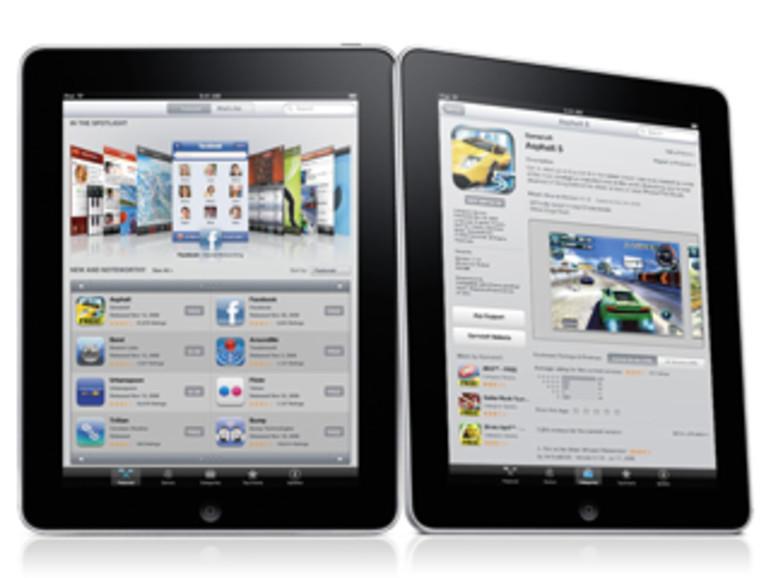 iPad läuft auch mit iPhone Apps