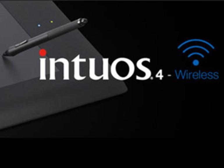 Drahtloses Grafiktablet: Intuos 4 Wireless