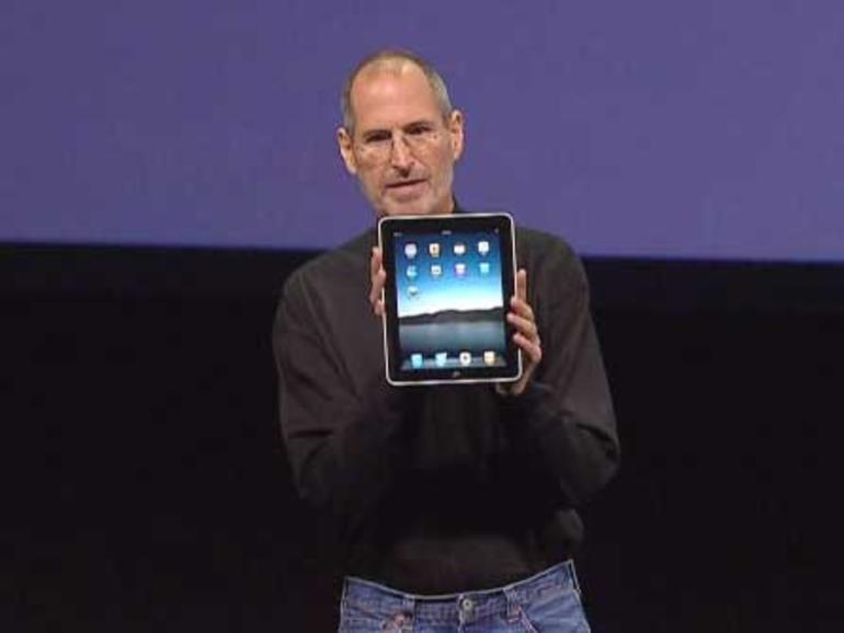 Steve Jobs: iPad-Abendessen mit der New York Times
