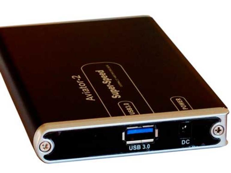 Mit USB 3.0: SSD als externes Laufwerk