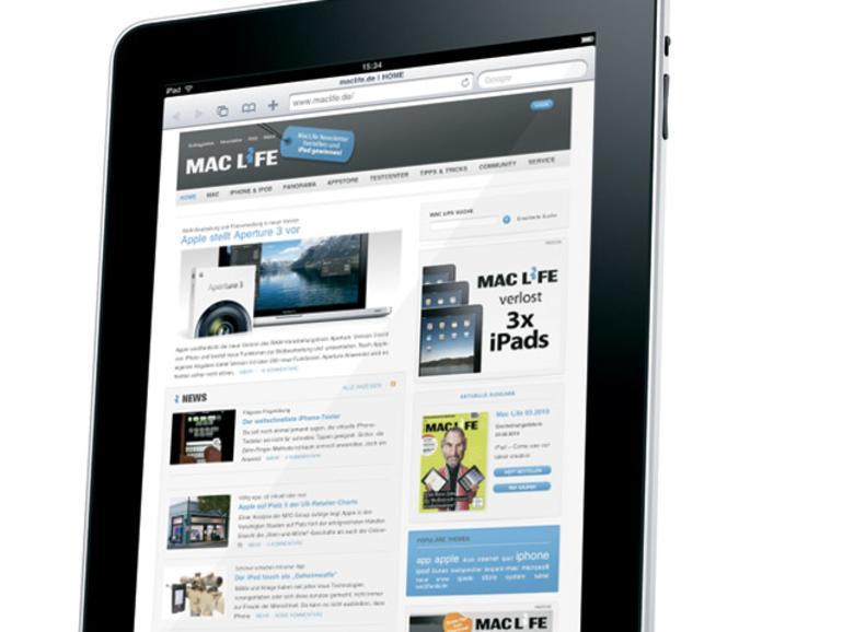 Ab 14:30 Uhr: iPad-Vorbestellung in den USA möglich