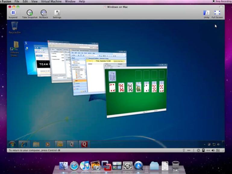 VMware Fusion 3.1: Beta-Version mit verbesserter 3D-Grafikunterstützung