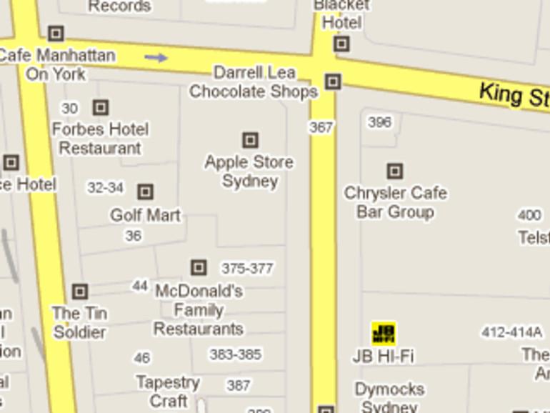 Google Maps erlaubt Firmenlogos auf Karten