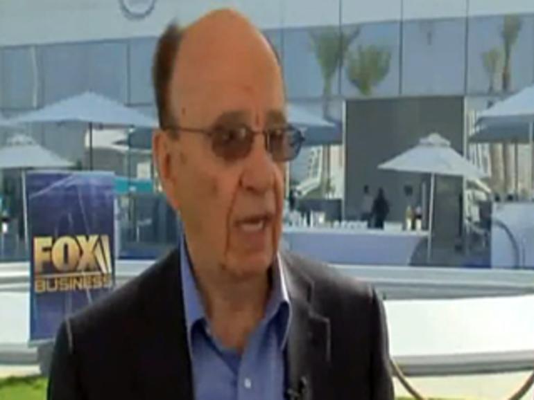 Video: Medienmogul Rupert Murdoch liebt das iPad