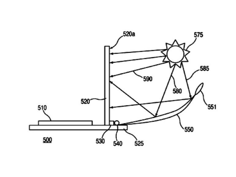 Neues Apple-Patentgesuch: Display-Beleuchtung durch Sonnenlicht