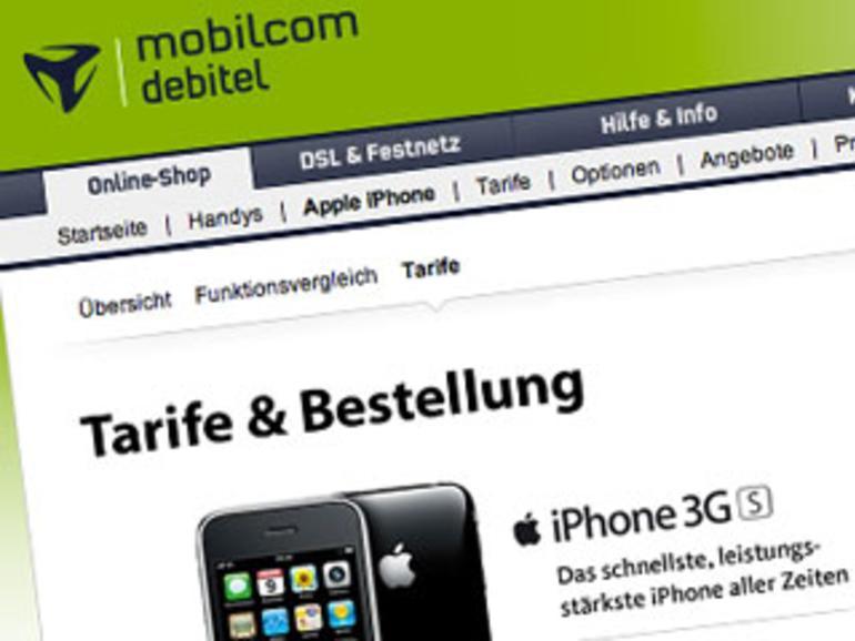 Offiziell: iPhone 3G(S) ab sofort bei Debitel zu haben