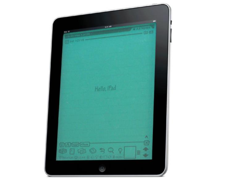 Retro deluxe: Das iPad wird zum Newton