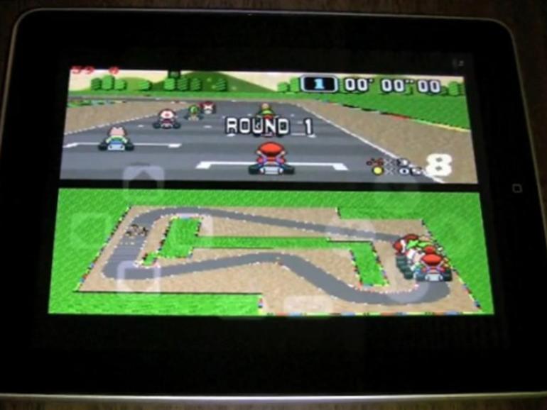 SNES-Emulator ohne Jailbreak?: Mario Kart auf dem iPad