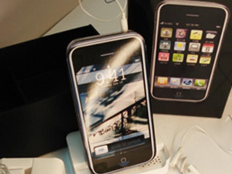 Das iPhone als Grabschmuck