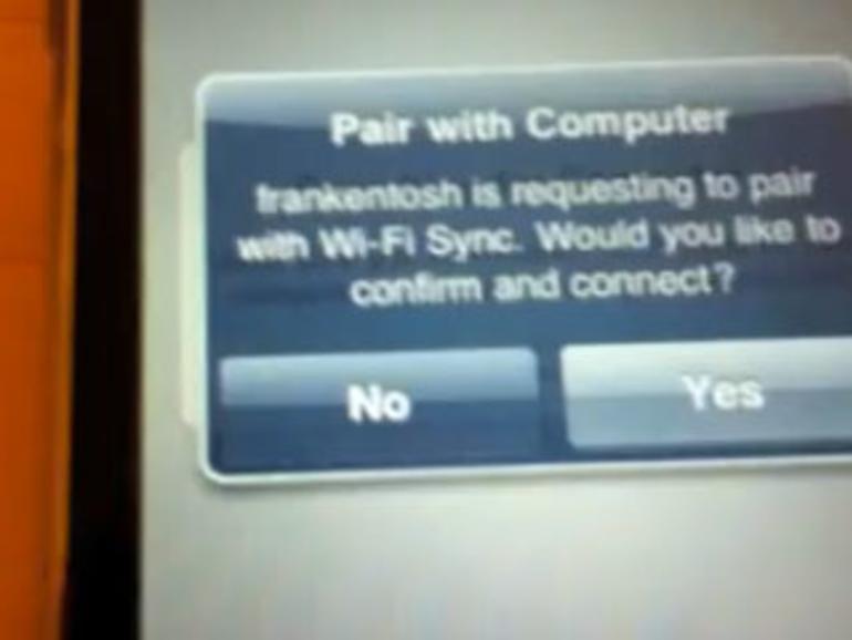 WLAN-Sync zwischen iPhone und iTunes