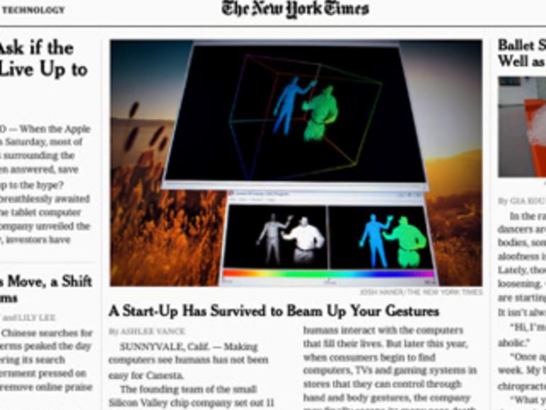 Verträge mit Amazon: Jobs enttäuscht über App der New York Times