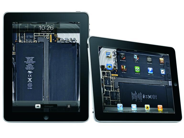 iFixIt zeigt das etwas andere iPad-Wallpaper